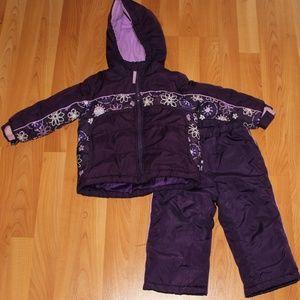Arizona Jean Co. Girls 24M Ski Jacket & Snow pants